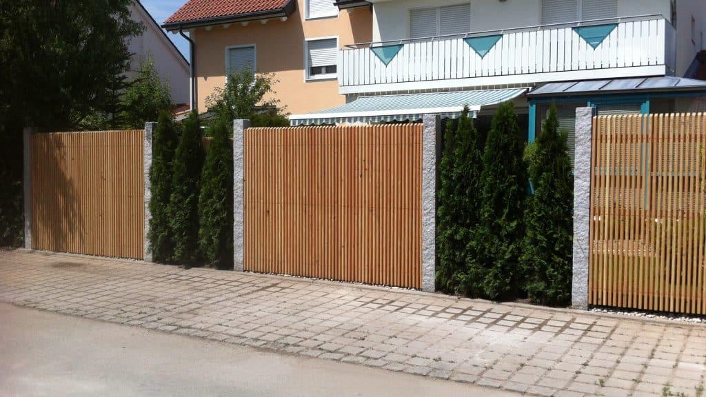 Bekannt Gartenmauern und Zäune - Sichtschutz und Abgrenzung - HEWI KN97
